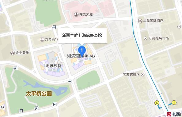 上海大使馆
